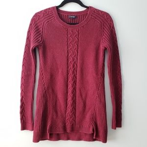 Nautica Plum Sweater | S